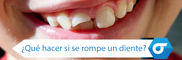 que hacer si se rompe un diente